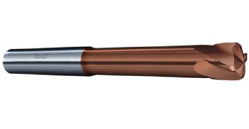 New end mills offer high-feed cutting