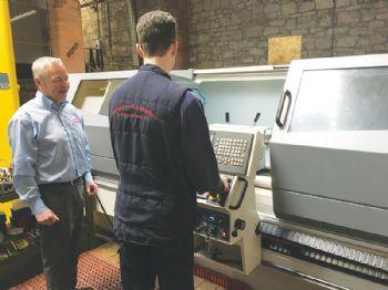 Firm raises the bar with an Alpha CNC lathe
