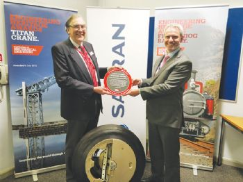 Award for Dowty sprung undercarriage wheel