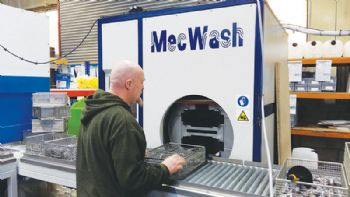 Engineering firm invests in new cleaning system