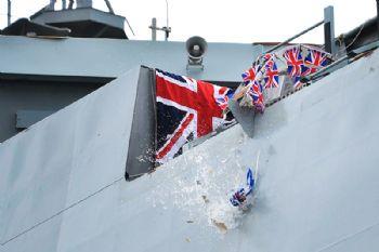 New offshore patrol vessel named HMS Trent