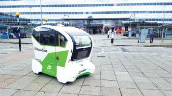 Aurrigo starts self-driving pod trials
