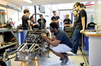 Budding engineers gear up for Formula Student