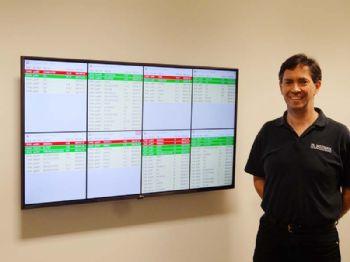 PSL Datratrack enhances Status Board displays