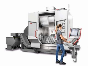 Large machining centre with 'entry level' price