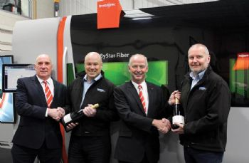 200th Bystronic fibre laser sold in the UK