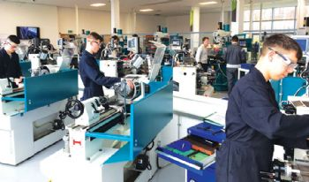 Coleg Cambria invests in a range of machines