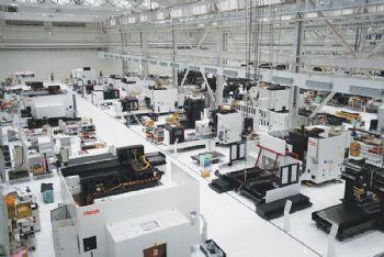 Yamazaki Mazak's new plant  begins production