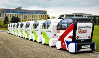 'Whale of pods' arrive in Milton Keynes