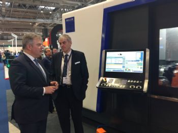 Industry 4.0 top of the agenda on Heller stand