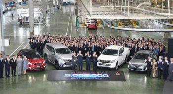 MMC Thai facility makes five-millionth car