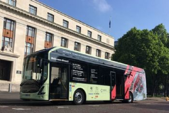 Cardiff welcomes its first electric bus