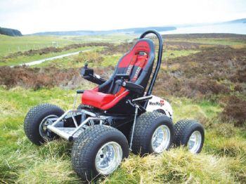 HexHog all-terrain wheelchair set to change lives