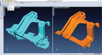 CAD/CAM software offers reverse engineering