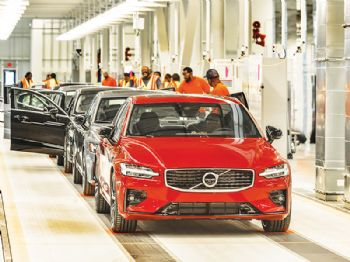 Volvo Cars opens first factory in the USA