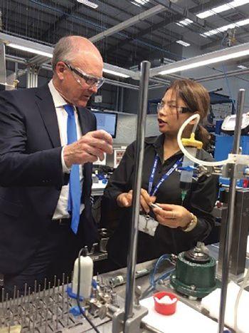 US Ambassador visits Hydraforce