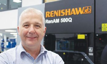 Renishaw director awarded Silver Medal
