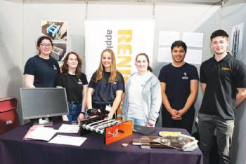 Renishaw supports winning Big Bang Fair students