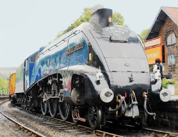 Restoring an iconic steam train