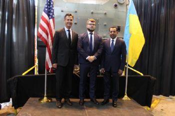 GE Transportation celebrates first Ukrainian train