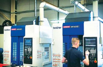 Five-axis machining at Plalite Ltd