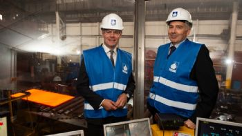 Scotland leads UK fightback for strongest steel