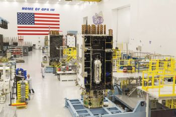 GPS III satellite launches