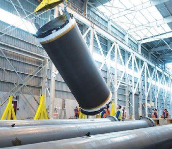 OmegA rocket has its first live motor segment