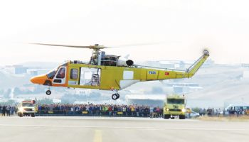 First flight for Turkey's T625 helicopter