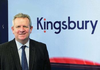 New trading name and logo for Kingsbury