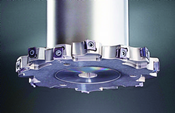 Side milling cutter with stepless adjustment