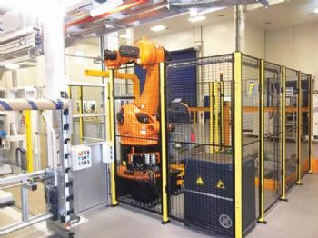 Solvay officially opens automated centre