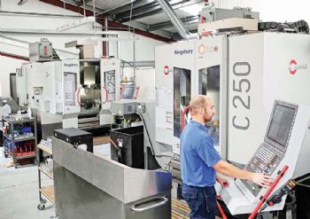 Northern Ireland company moves up to five-axis