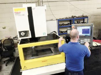 Scottish firm pushes its EDM machines to the limit