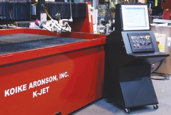 Five-axis water-jet cutting system partnership