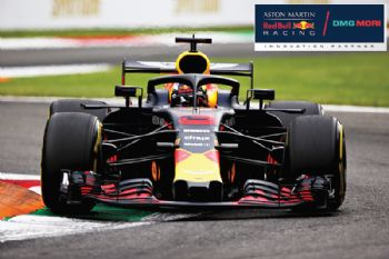 Aston Martin Red Bull Racing and DMG Mori
