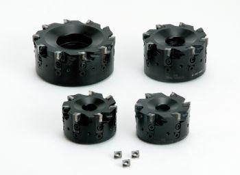 Ceramic end mills for 'super-fast' machining