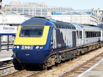 ScotRail's first upgraded Inter7City train