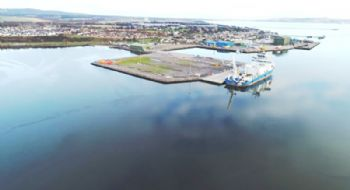 Quayside expansion for Port of Cromarty Firth
