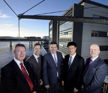 Chinese offshore marine engineering group launches