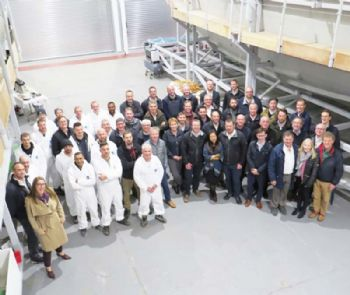 Yacht maker opens new moulding facility