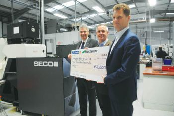 Seco raises funds for charity