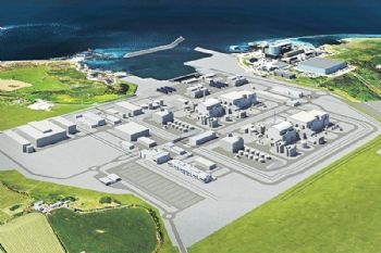 Hitachi to suspend construction at nuclear plant