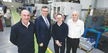 Portadown engineering firm opens new facility