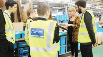 Harlow company inspires students