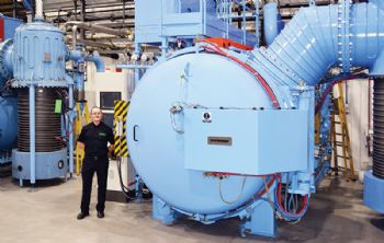 Vacuum furnace delivered to Wallwork Group