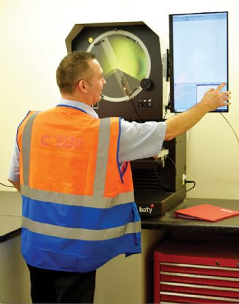 Baty profile projector ensures quality at Eclipse