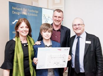 Youngster praised for entry in design competition