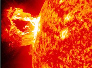UK to tackle danger of solar wind