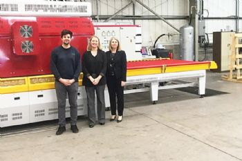 New machinery and premises for Treforest Glass